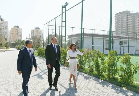 Bakıda böyük idman-əyləncə park kompleksi açıldı - FOTO , fotoşəkil-3