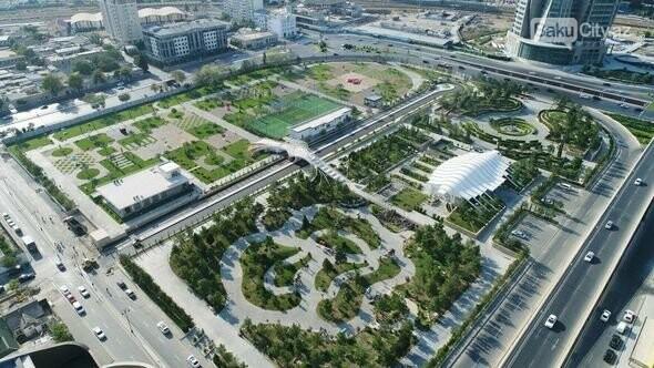 Bakıda böyük idman-əyləncə park kompleksi açıldı - FOTO , fotoşəkil-5