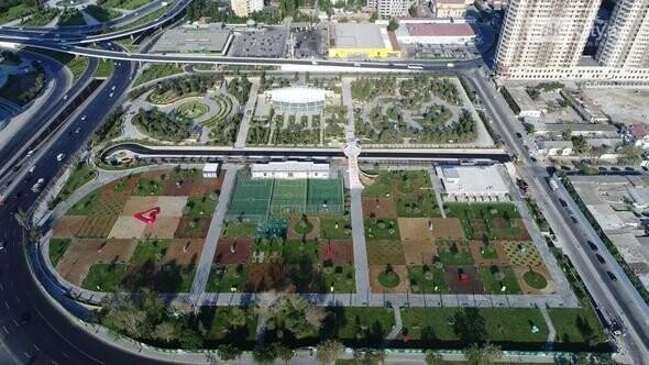 Bakıda böyük idman-əyləncə park kompleksi açıldı - FOTO , fotoşəkil-7