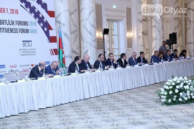 """Bakıda """"Azərbaycan Rəqabətlilik Forumu 2018"""" keçirilib, fotoşəkil-3"""