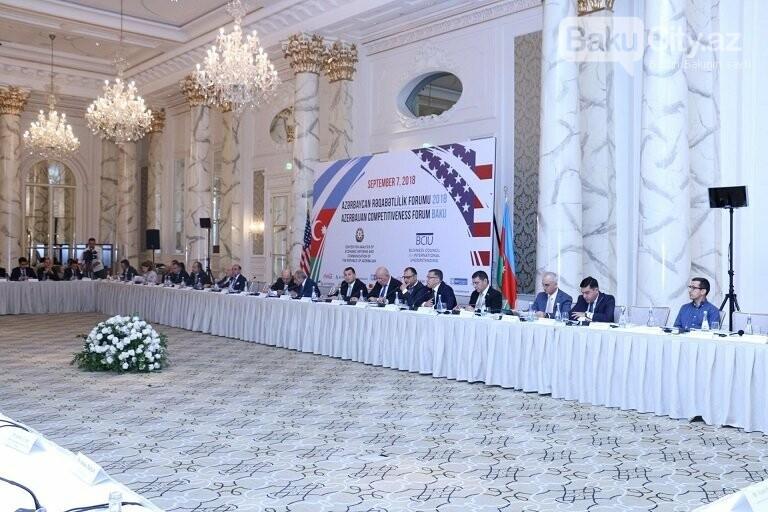 """Bakıda """"Azərbaycan Rəqabətlilik Forumu 2018"""" keçirilib, fotoşəkil-4"""