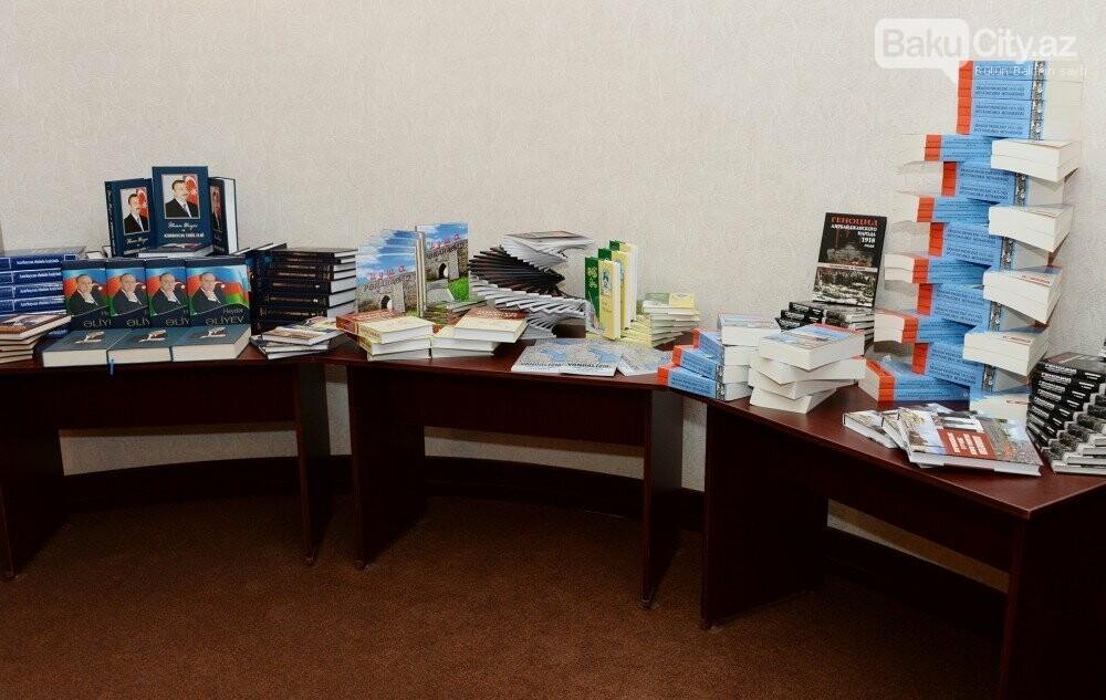 Bakının işğaldan azad olunmasına həsr edilmiş simpozium - Foto, fotoşəkil-4