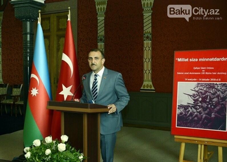 """Bakının azadlığına həsr edilmiş sərgi - """"Millət sizə minnətdardır"""", fotoşəkil-12"""