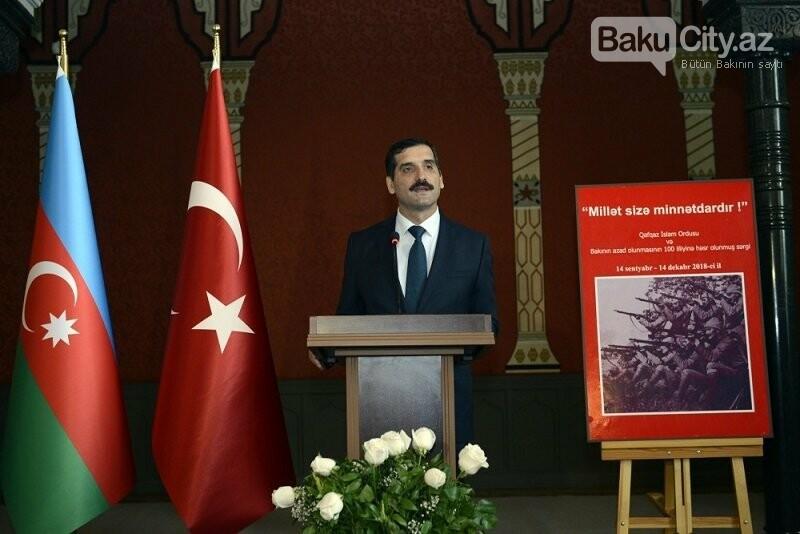 """Bakının azadlığına həsr edilmiş sərgi - """"Millət sizə minnətdardır"""", fotoşəkil-2"""