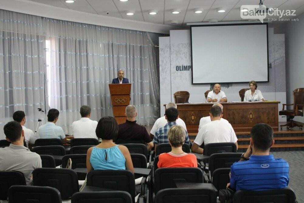 Bakıda Beynəlxalq Atletika Federasiyasının seminarı təşkil olunub, fotoşəkil-3