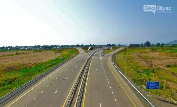 İlham Əliyev Ələt-Astara avtomobil yolunun açılışında, fotoşəkil-1