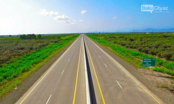 İlham Əliyev Ələt-Astara avtomobil yolunun açılışında, fotoşəkil-4