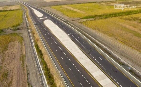 İlham Əliyev Ələt-Astara avtomobil yolunun açılışında, fotoşəkil-5