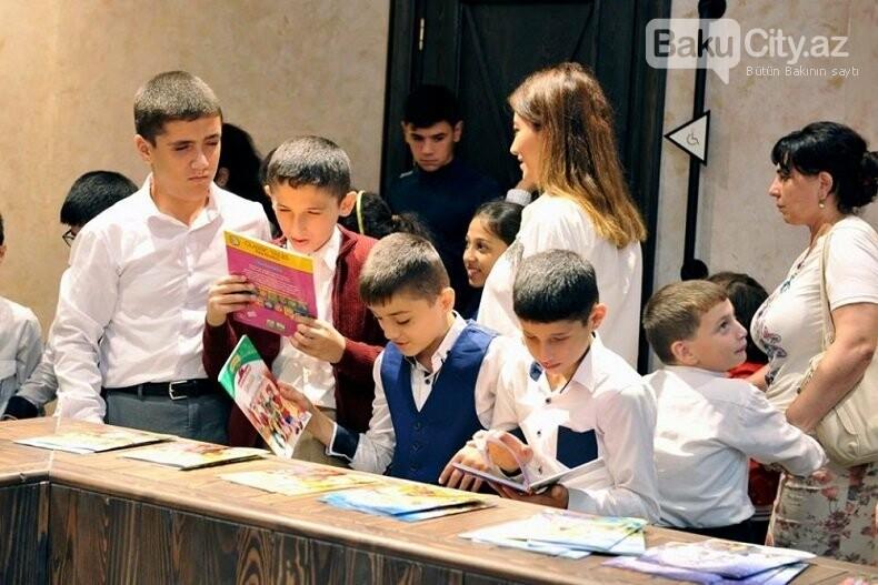 Bakı Kitab Mərkəzində görmə qüsurlu uşaqlarla görüş keçirilib, fotoşəkil-9