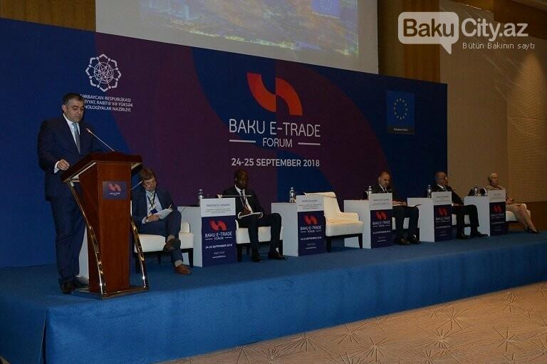 Bakı Beynəlxalq Elektron Ticarət Forumu öz işini yekunlaşdırıb, fotoşəkil-1
