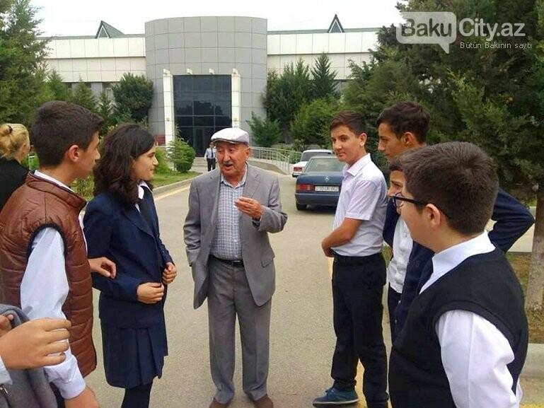 Bakı məktəblərində Beynəlxalq Ahıllar Günü qeyd olunub, fotoşəkil-2