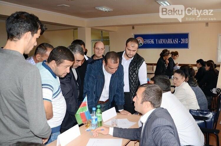 Bakıda səyyar əmək birjaları təşkil olunub, fotoşəkil-1