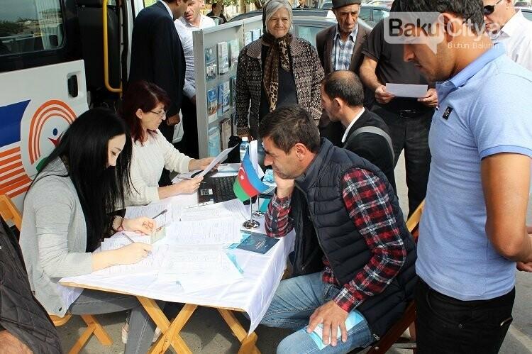 Bakıda səyyar əmək birjaları təşkil olunub, fotoşəkil-6