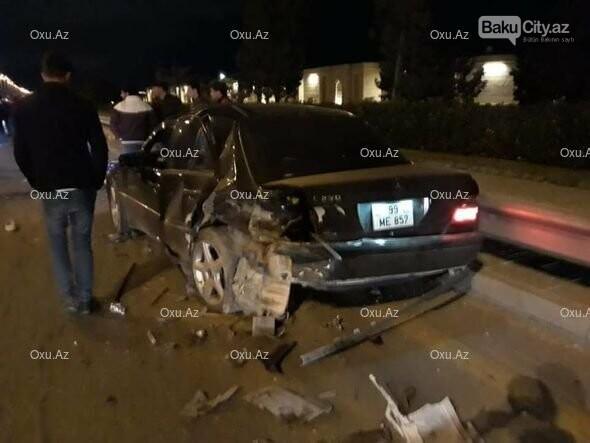 Bakıda maşın taksidən düşən qadını vurub öldürdü - FOTO, fotoşəkil-1