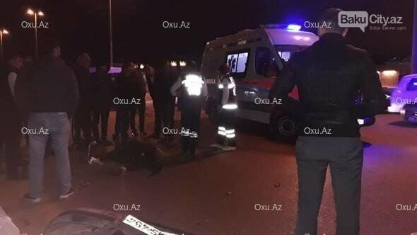 Bakıda maşın taksidən düşən qadını vurub öldürdü - FOTO, fotoşəkil-2