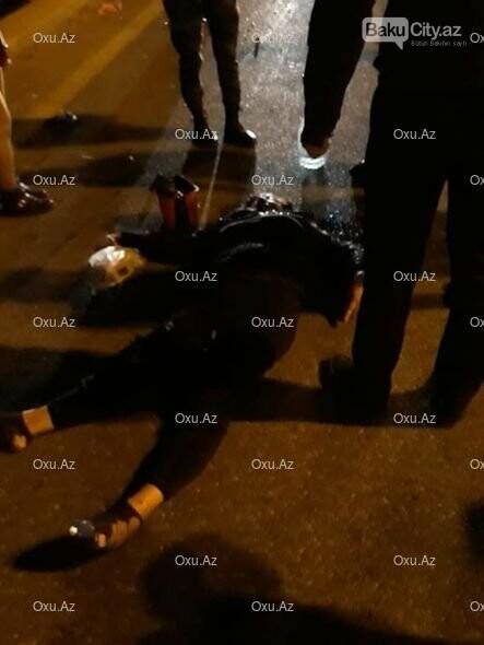Bakıda maşın taksidən düşən qadını vurub öldürdü - FOTO, fotoşəkil-3