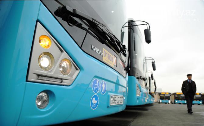 Bakıya gətirilən yeni sərnişin avtobusları təqdim edildi - FOTO , fotoşəkil-1