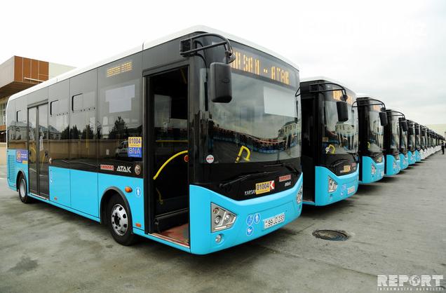 Bakıya gətirilən yeni sərnişin avtobusları təqdim edildi - FOTO , fotoşəkil-3