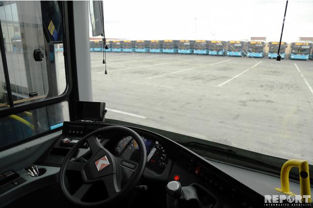 Bakıya gətirilən yeni sərnişin avtobusları təqdim edildi - FOTO , fotoşəkil-2