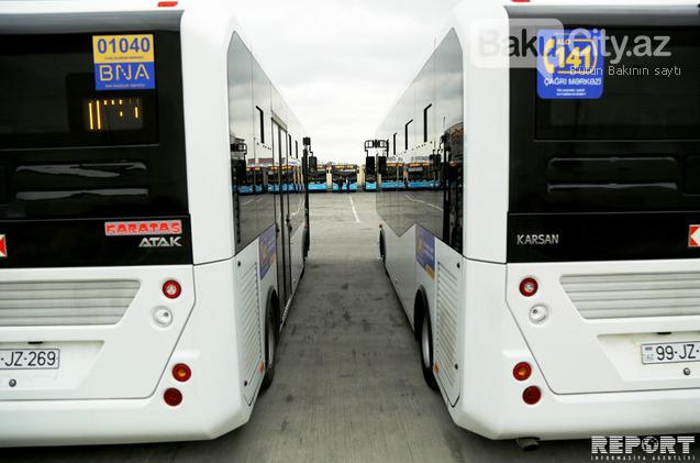 Bakıya gətirilən yeni sərnişin avtobusları təqdim edildi - FOTO , fotoşəkil-5