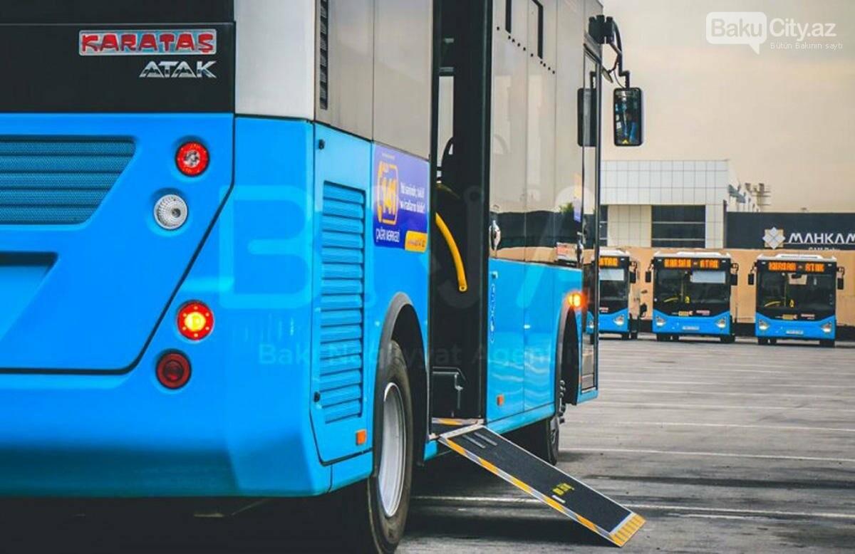 Bakıda bu marşrut üzrə yeni avtobuslar xidmət göstərəcək - FOTO, fotoşəkil-1