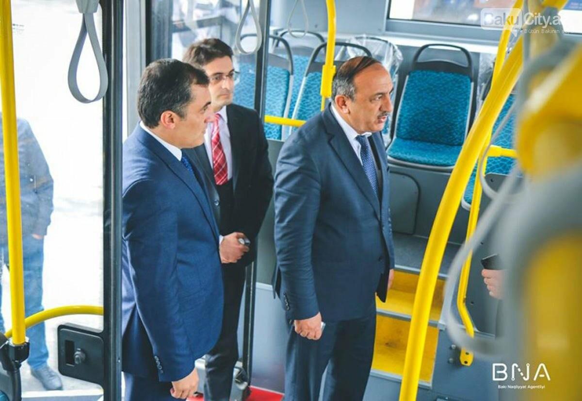 Bakıda bu marşrut üzrə yeni avtobuslar xidmət göstərəcək - FOTO, fotoşəkil-4