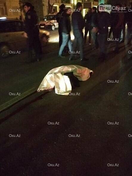 """Bakıda """"London taxi"""" piyadanı vuraraq öldürdü - FOTO, fotoşəkil-1"""