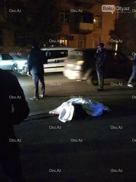 """Bakıda """"London taxi"""" piyadanı vuraraq öldürdü - FOTO, fotoşəkil-2"""