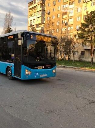 Bakıda yeni sərnişin avtobusları istifadəyə verildi - FOTO, fotoşəkil-1