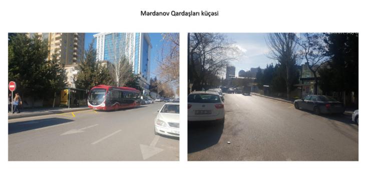 Bakıda avtobus dayancaqlarının yeri dəyişdirildi - FOTO, fotoşəkil-1