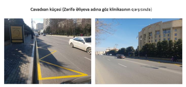 Bakıda avtobus dayancaqlarının yeri dəyişdirildi - FOTO, fotoşəkil-2