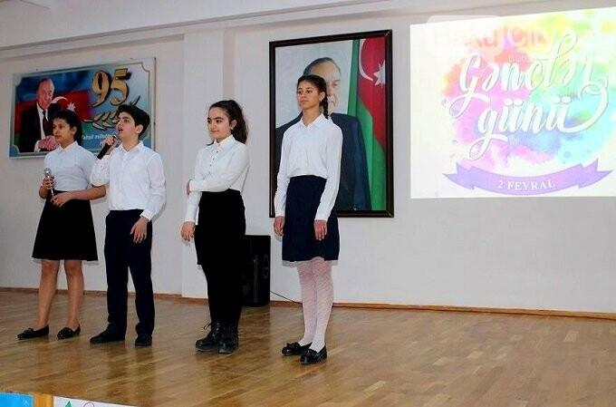 """Bakı məktəblərində """"Gənclər Günü"""" qeyd edilib, fotoşəkil-2"""