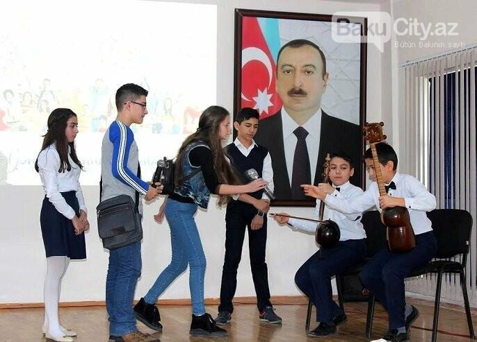 """Bakı məktəblərində """"Gənclər Günü"""" qeyd edilib, fotoşəkil-1"""