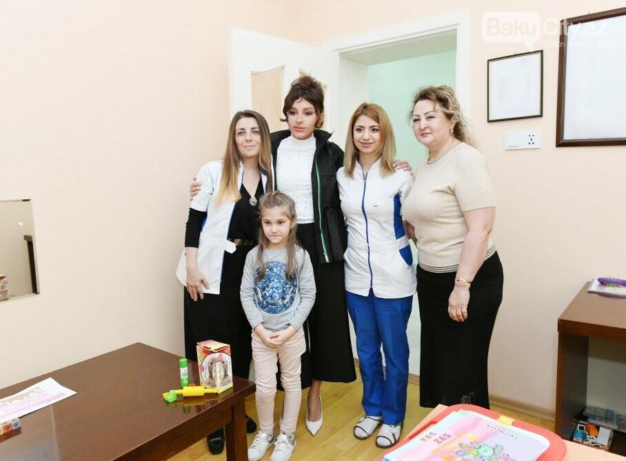 Mehriban Əliyeva Bakıda uşaq mərkəzində olub - FOTO, fotoşəkil-2