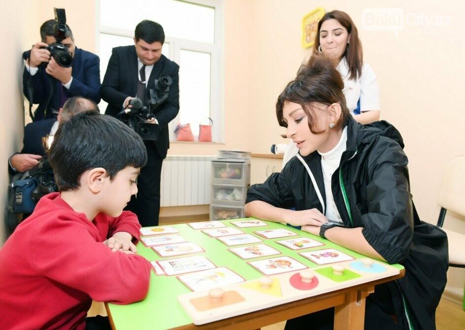 Mehriban Əliyeva Bakıda uşaq mərkəzində olub - FOTO, fotoşəkil-4