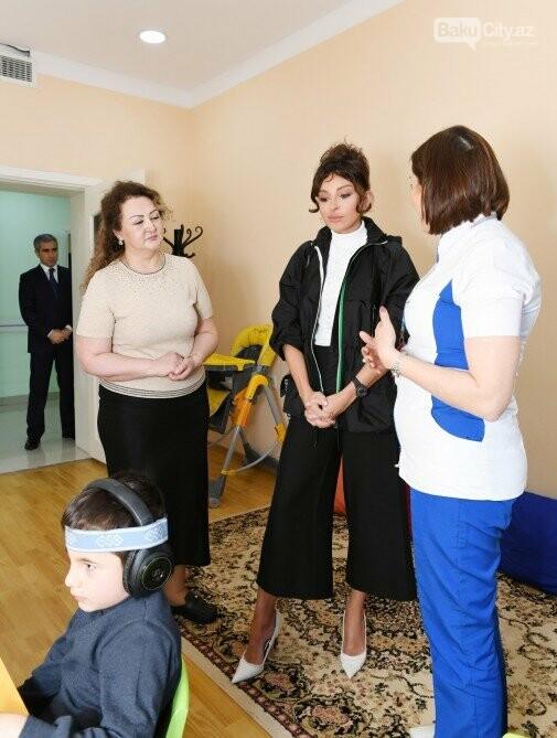 Mehriban Əliyeva Bakıda uşaq mərkəzində olub - FOTO, fotoşəkil-6