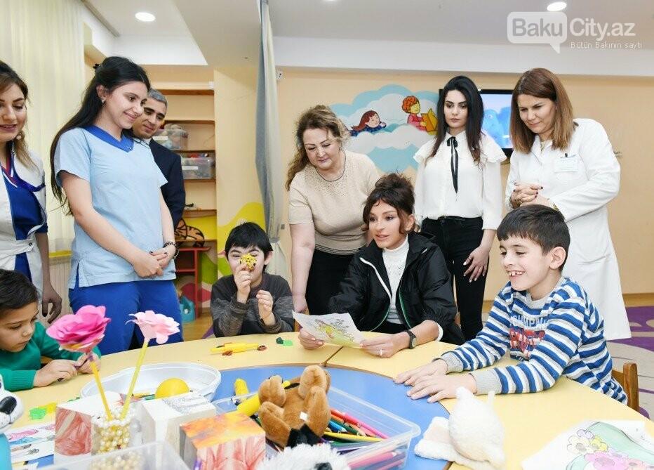 Mehriban Əliyeva Bakıda uşaq mərkəzində olub - FOTO, fotoşəkil-7