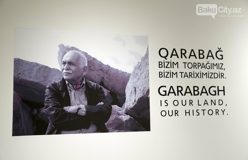 """Bakıda Arif Hüseynovun """"Qarabağnamə - tarixin səhifələri"""" sərgisi açıldı - FOTO, fotoşəkil-1"""