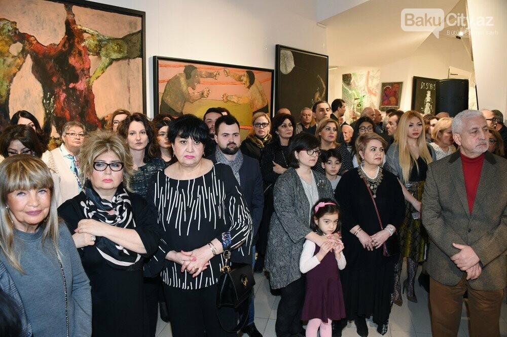 """Bakıda Arif Hüseynovun """"Qarabağnamə - tarixin səhifələri"""" sərgisi açıldı - FOTO, fotoşəkil-9"""