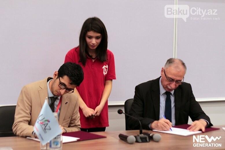 Startap və İnnovasiya Mərkəzi Bakıda memarandum imzaladı - FOTO, fotoşəkil-5