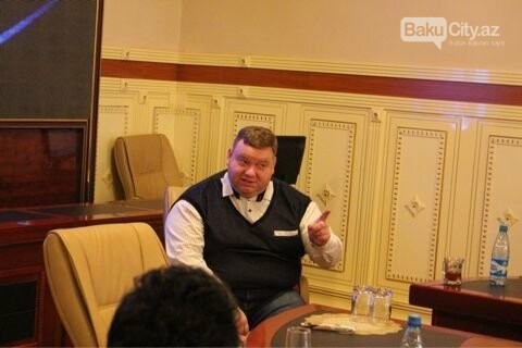 "Tanınmış ""KVN""çi Bakıda master-klas keçdi - FOTO, fotoşəkil-8"