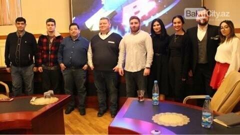 "Tanınmış ""KVN""çi Bakıda master-klas keçdi - FOTO, fotoşəkil-7"