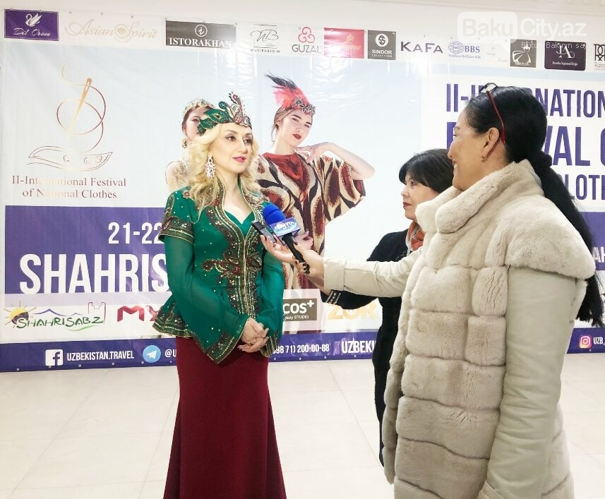"""Bakılı dizayner Özbəkistanda """"Novruz"""" kolleksiyasını təqdim etdi - FOTO, fotoşəkil-2"""