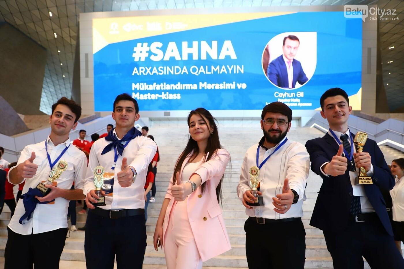 """Bakıda """"SAHNA: Effektiv Natiq – Uğurlu Sahibkar!""""ın qalibləri mükafatlandırıldı - FOTO, fotoşəkil-6"""