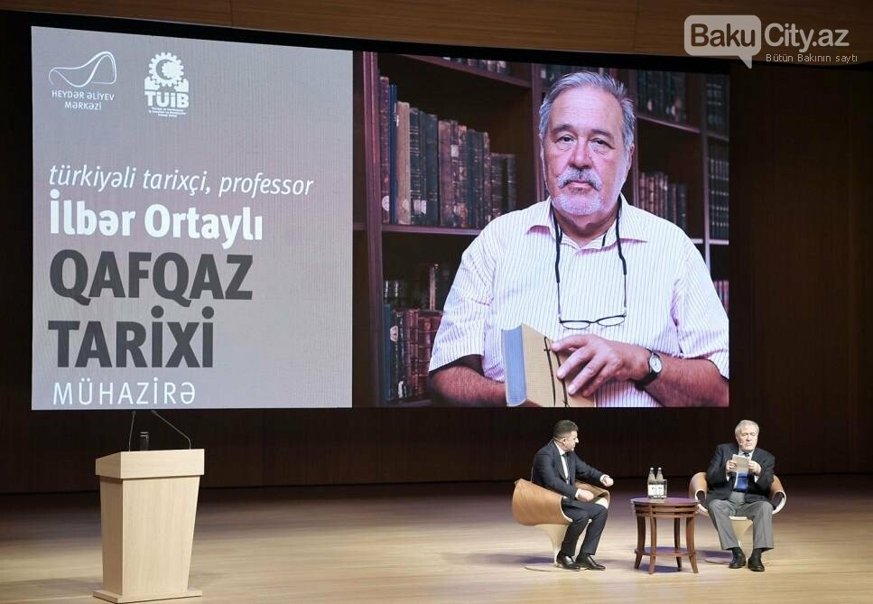 Bakıda türkiyəli tarixçi, professorla görüş keçirildi - FOTO, fotoşəkil-5