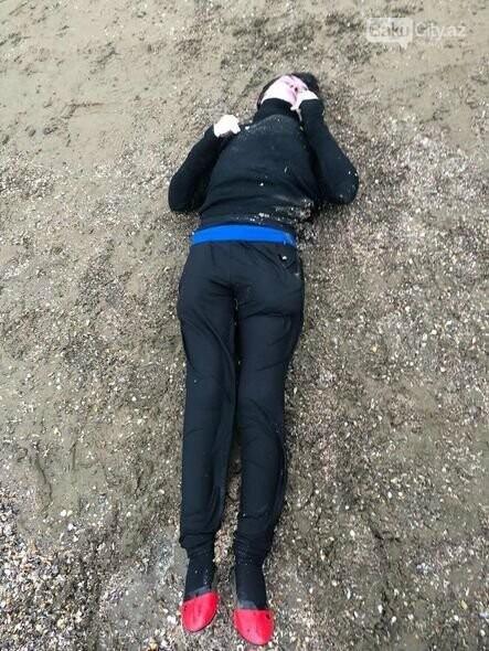 Bakıda çimərlikdən qadın meyiti tapıldı - FOTO, fotoşəkil-1
