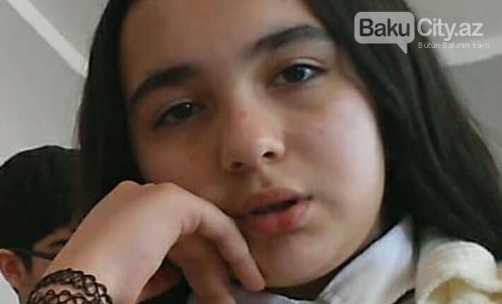 Bakıda dərsdən evə gedən 13 yaşlı qız yoxa çıxıb - FOTO, fotoşəkil-1