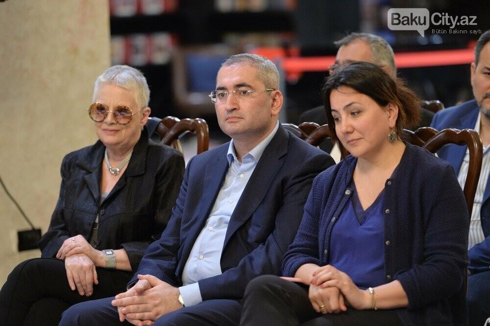 Bakıda rusiyalı məşhur jurnalistlə görüş keçirilib - FOTO, fotoşəkil-5