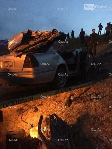 Bakı-Quba yolundakı qəzada 5 nəfər öldü - FOTO, fotoşəkil-1