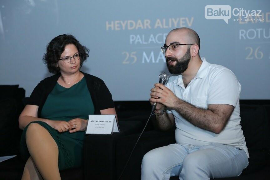 İsrailli musiqiçinin Bakı konsertinə hazırlıqlar davam edir - FOTO, fotoşəkil-1